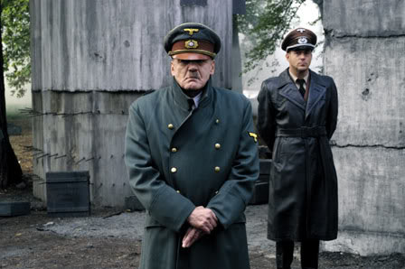 Adolf Hitler (Bruno Ganz) eta Albert Speer (Heino Ferch)